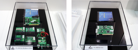 PC-3000 for Windows UDMAとPC-3000 for SCSI